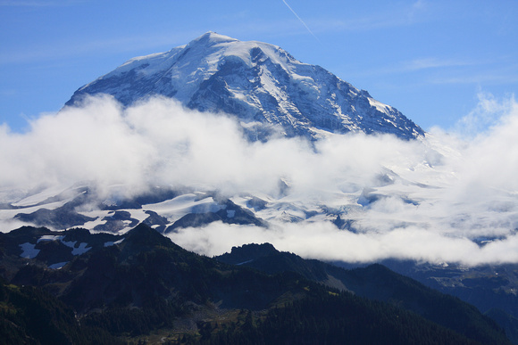 Mt. Rainier from Lookout